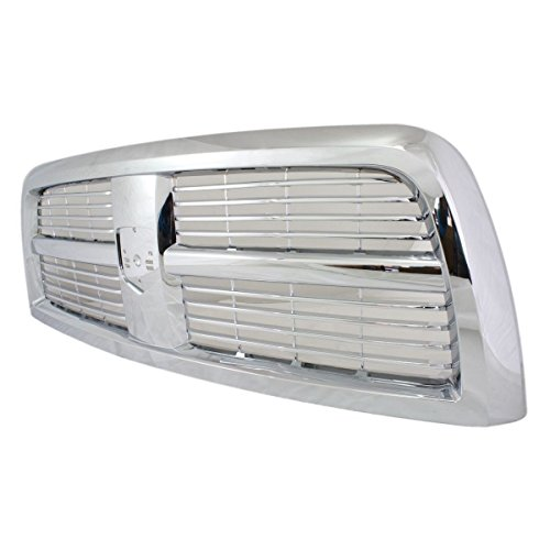 Diften 102-A2304-X01 - New Grille Assembly Grill Chrome Dodge Ram 2500 Truck 2010 3500 2012 - 3500 Chrome Truck Grill