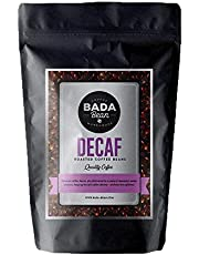 Bada Bean Coffee, Decaf, Roasted Beans. Fresh Roasted Daily. Award Winning Speciality Coffee Beans. 1000g (Ground for Espresso)
