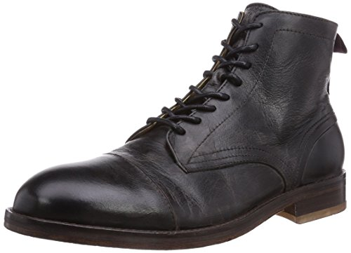 H Shoes Palmer, Men's Cold lined classic boots short length Black (Black)