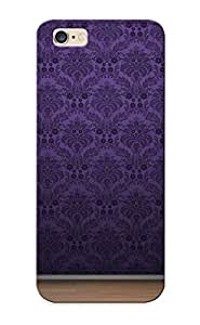 Pretty HtlLUwd3459rwWnH ipod touch4 Case Cover/ Purple Wall Pattern And Hardwood Floor Series High Quality Case