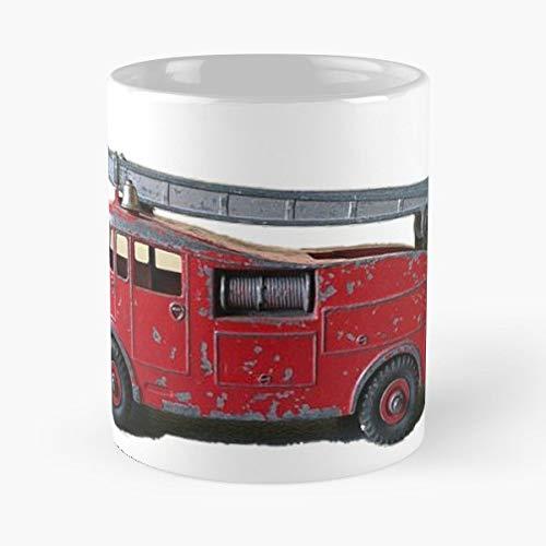 Fireman Firefighter Dinky Toys Corgi Funny Christmas Day Mug Gifts Ideas For Mom - Great Ceramic Coffee Tea Cup