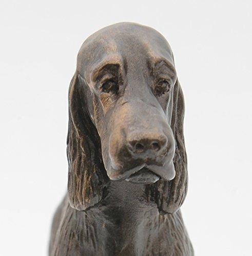 Gordon Setter Standing - Small Cold Cast Bronze Dog Statue - Figurine - Sculpture