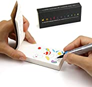 Molecularis Coloring Flip Book. Creative Activity Stress Reliever, Play and Learn Animation by Flipboku