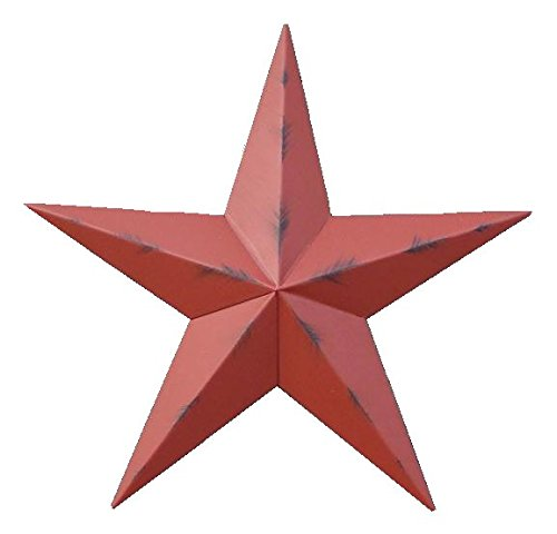 Cheap Heavy Duty Metal Star 24″ Painted Rustic Barn Red. These Metal Stars Add a Touch of Country to Your Home Decor. You Will Not Be Disappointed with the Quality and Workmanship on These Stars. They Are Handcrafted Out of 22 Gauge Galvanized Steel and Will Not Rust. Add a Barnstar to Your Home Decor Today.