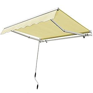 Amazon Com Fch 12 X10 Patio Manual Retractable Deck