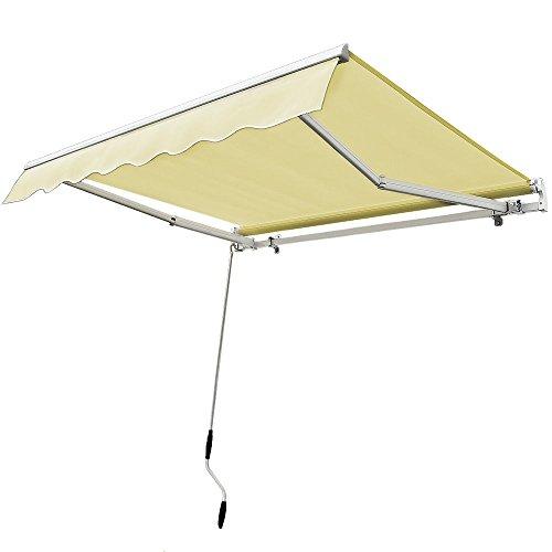 12 X 10 Diy Manual Retractable Awning Patio Deck