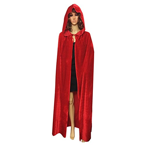 Smartcoco Halloween Cosplay Hooded Sleeveless Cloak Adult Halloween Party Costumes Capes(S-XL) - Renaissance Falconer Costume
