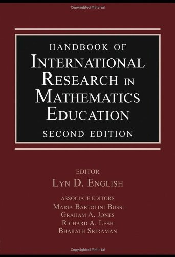 Handbook of International Research in Mathematics Education