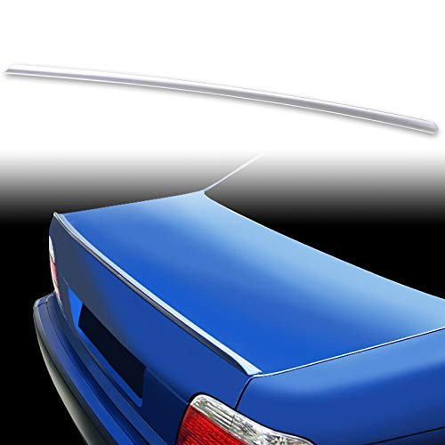 (FYRALIP Painted Factory Print Code Trunk Lip Wing Spoiler For 1994-2001 BMW 7-Series E38 Sedan Fast Delivery Easy Installation Perfect Fit - 259 Brocade Red Pearl )