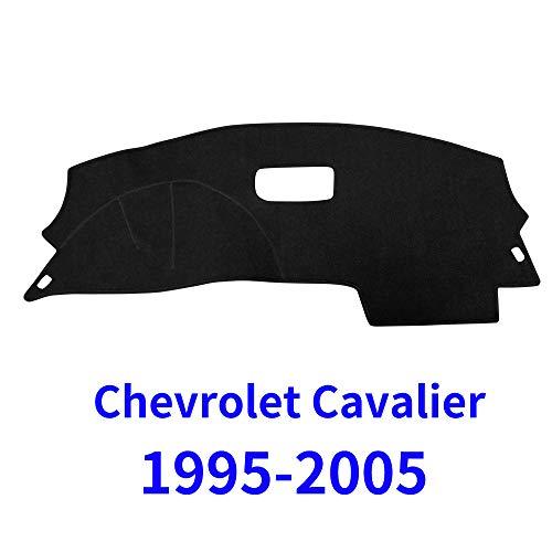 - JIAKANUO Auto Car Dashboard Carpet Dash Board Cover Mat Fit for Chevy Chevrolet Cavalier 1995-2005 (Black) MR046