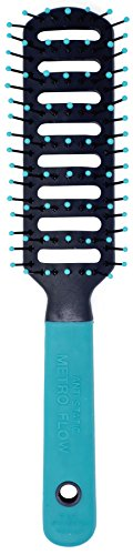 Spornette Anti Static Vent Brush #9000-MF (BLUE) Styling, Smoothing, Straightening & Blow Drying Hair Quickly With No Static - Adds Shine & Body. For Women, Men & Children
