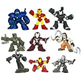 Iron Man 2 Movie Superhero Squad 3-Packs Wave 2 Revision 1