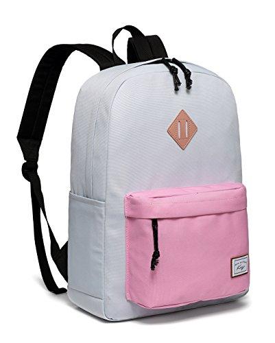 Women Backpack,Kasqo School Backpack Water-Resistant Lightweight Casual Rucksack