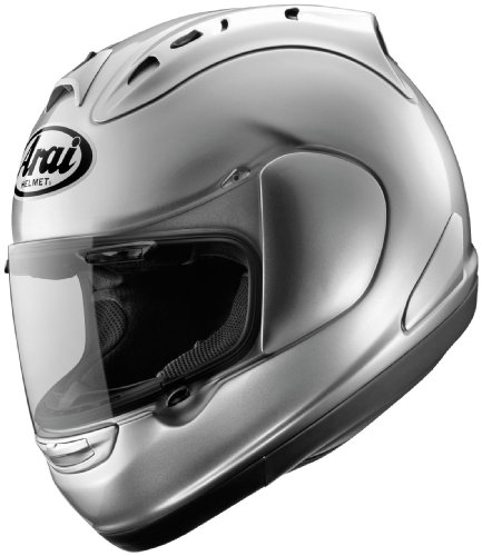 - Arai Corsair V Solid Full Face Motorcycle Riding Race Helmet -Aluminium Silver