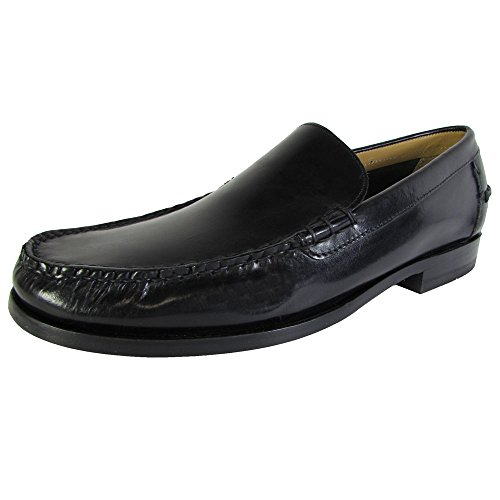 Cole Haan Heren Henderson Venetiaans Ii Lederen Loafer Schoen Zwart
