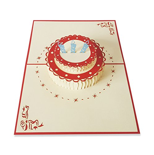 YOKARTA 3D Pop-Up Birthday Cards | Happy Birthday Wishes Greeting Card with...