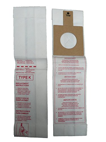 EnviroCare Replacement Vacuum Bags for Royal Dirt Devil Stick Vac Type K 15 Bags (Type K Vacuum Cleaner Bags)