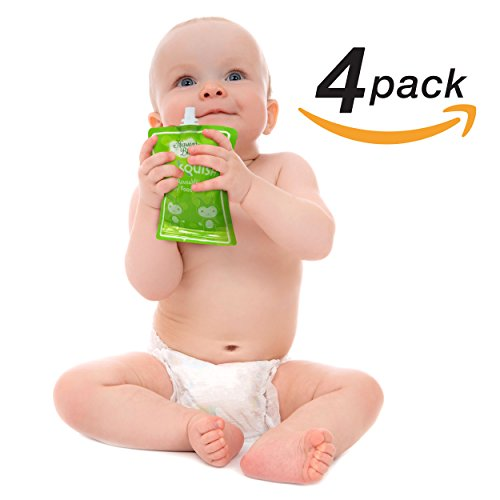 Reusable Pouch Clean Toddler 4 Pack product image