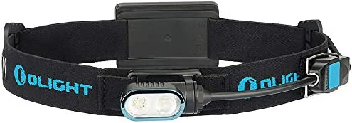 Olight Array 400 Lumens Ultralight USB Magnetic Rechargeable Headlamp with Spot and Flood Dual Beam LEDs, 180 Degrees...