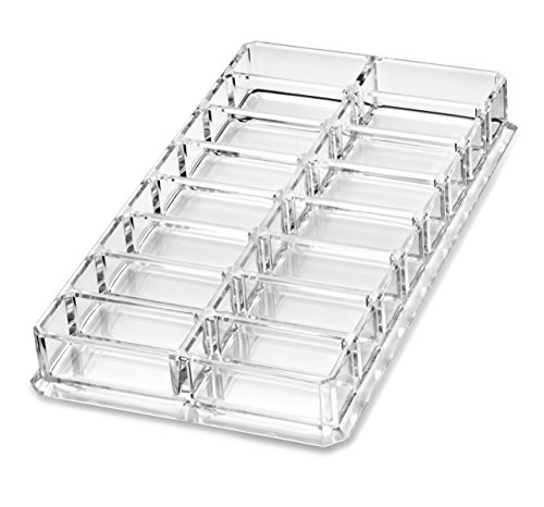 Acrylic-Eyeshadow-Organizer-Beauty-Care-Holder-Provides-16-Space-Stoarge-byAlegory-Clear