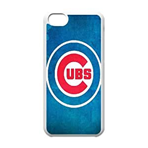 Chicago Cubs 002 iPhone 5c Cell Phone Case White Protective Cover