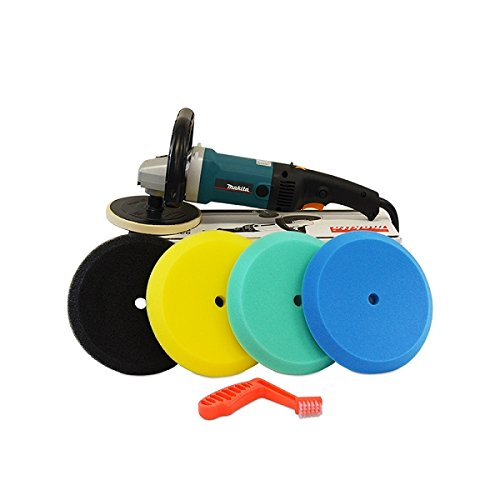 Detail King Makita High Speed Polisher Edge Foam Pad Set Value Package - Single Sided