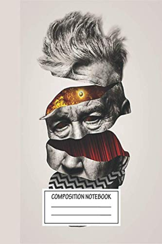 Notebook: David Lynch Twin Peaks Graphic , Journal for Writing, Size 6