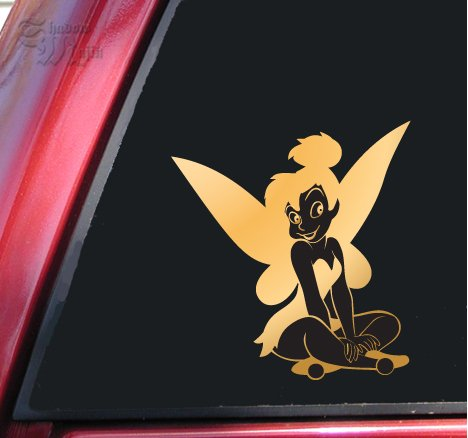 Tinkerbell Fairy Vinyl Decal Sticker (6