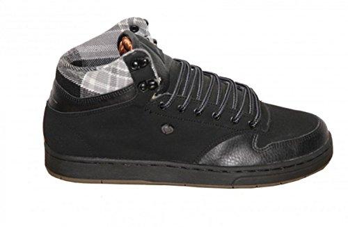 Circa Skateboard Lurker Black/ Plaid Sneakers Shoes