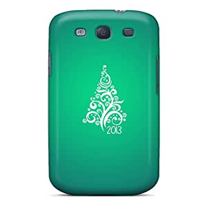 New Premium OTcase Christmas Tree 2013 Skin Case Cover Excellent Fitted For Galaxy S3