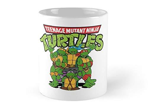 Mutant Ninja Turtles Mug - 11oz Mug - Made from Ceramic
