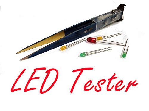 Zero LedTwee Handheld Smart LED Tester Tweezers Electronics DIY Factory Smart SMD