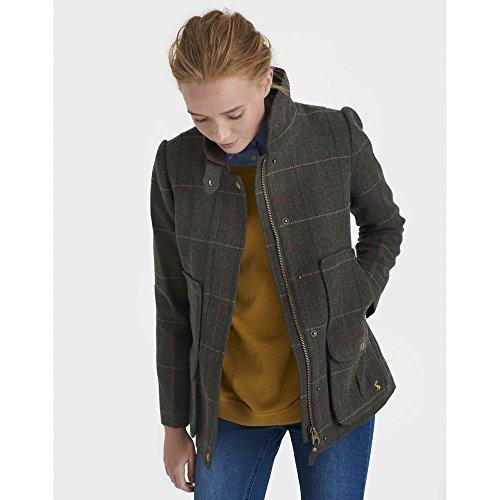 Joules Fieldcoat, Abrigo para Mujer Verde