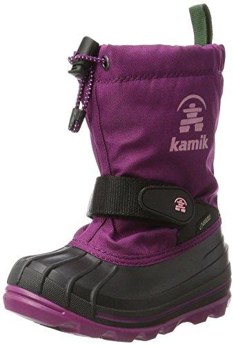 Kamik Unisex-Kinder Waterbug8g Schneestiefel Violett (Plum-Prune)