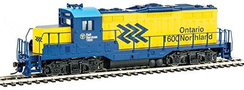 Walthers SceneMaster Emd GP9M Standard DC Ontario Northland #1600 Collectable Train - Gp9 Diesel Engine