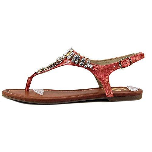 G by GUESS Womens Londean Split Toe Casual Slingback, Orange Ll, Size 6.5 ()