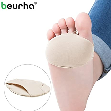 Silicone Gel Insoles Pads Cushions Forefoot Pain Support Front Feet Care Tool D