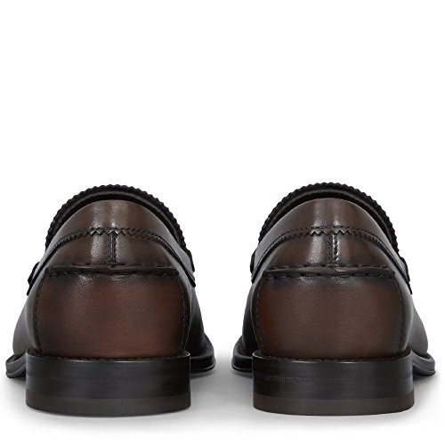 Tods Chaussure Mocassin Cuir Marron Foncé Mod. Xxm0ro00640d9cs801