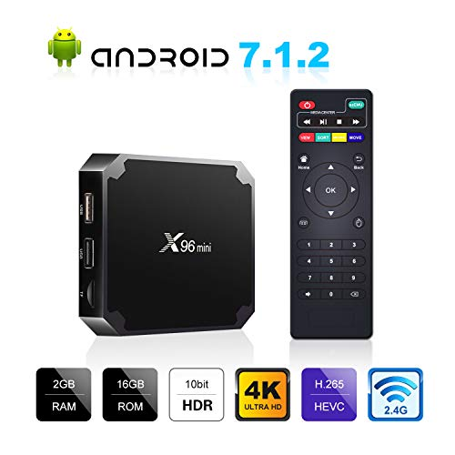 X96 Mini Android TV Box 2GB RAM 16GB ROM, Support 3D/4K HD HDR H.265 Android Box