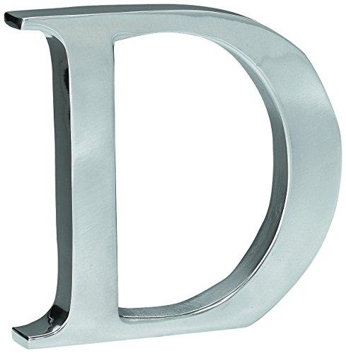 - KINDWER Aluminum Letter, 6-Inch, Monogrammed Letter D