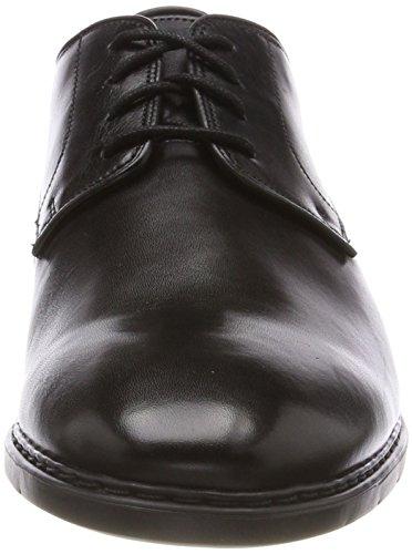 Herren Lace Banbury black Schwarz Derbys Leather Clarks AHT0Bq0