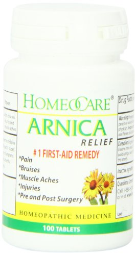 Homeocare Labs Arnica Relief Tablets, 100 Count