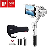 OFFICIAL AIbird Uoplay2S 3 Axis Handheld Universal Smartphone Steady Gimbal Stabilizer for iPhone 7 and 7 Plus and GoPro Hero 3 4 5/other Sports Action Camera of Similar Size
