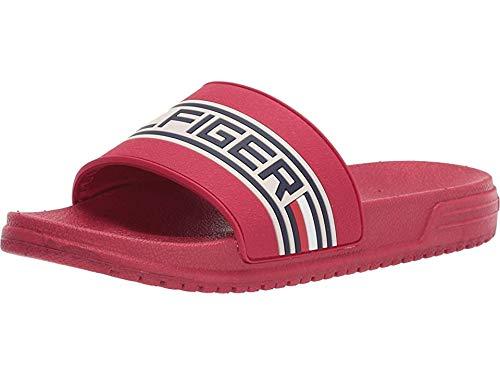 Red Girls Sandals - Tommy Hilfiger Unisex Kids' Geo Logo
