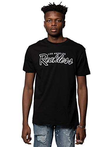 (Young and Reckless - OG Reckless Tee - Black - L - Mens - Tees - Graphic Tee - Black)