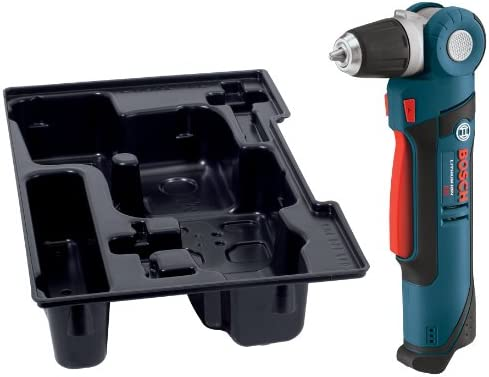 Bosch PS11BN 12-Volt Max Lithium-Ion 3 8-Inch Right Angle Drill Driver with L-BOXX Exact-Fit Tool Insert Tray