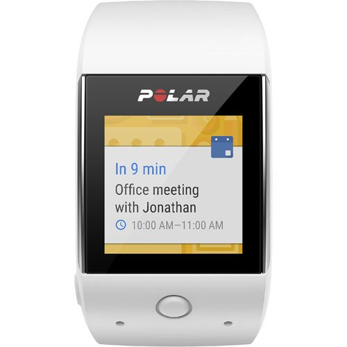 Polar M600 GPS Smart Watch with Heart Rate and Cinch Bag Fitness Kit - White by Polar (Image #3)