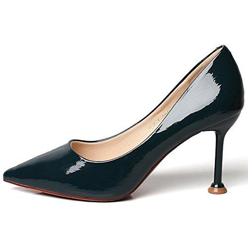 YMFIE La Primavera y el Verano señalan el tacón Alto Atractivo del Partido del Temperamento del Partido del Banquete Las señoras Trabajan los Zapatos A