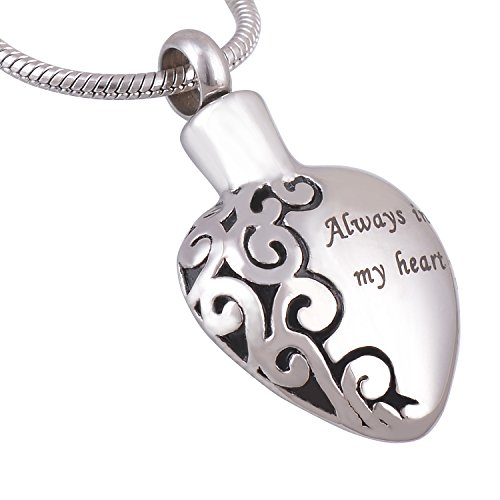 Engraving Stainless Cremation Memorial Necklace product image