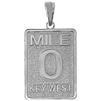 925 Sterling Silver Rhodium-plated Large Satin Milestone Number 5 Charm